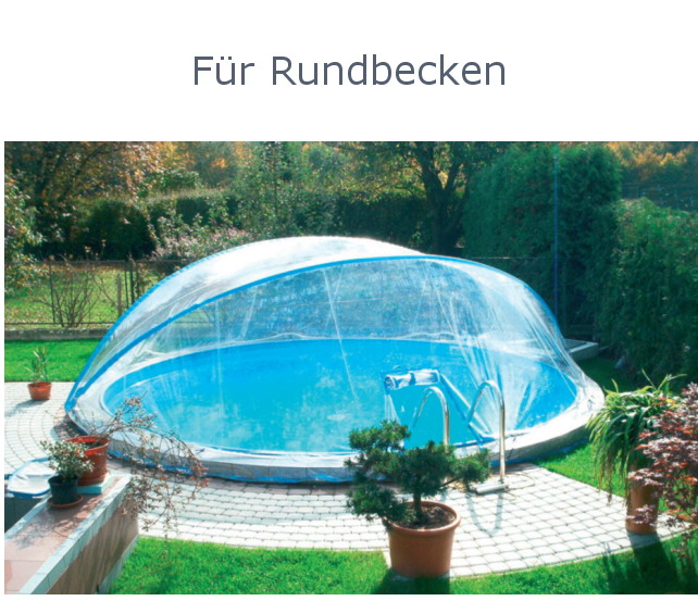 pool berdachung f r stahlmantel becken cabrio dome. Black Bedroom Furniture Sets. Home Design Ideas