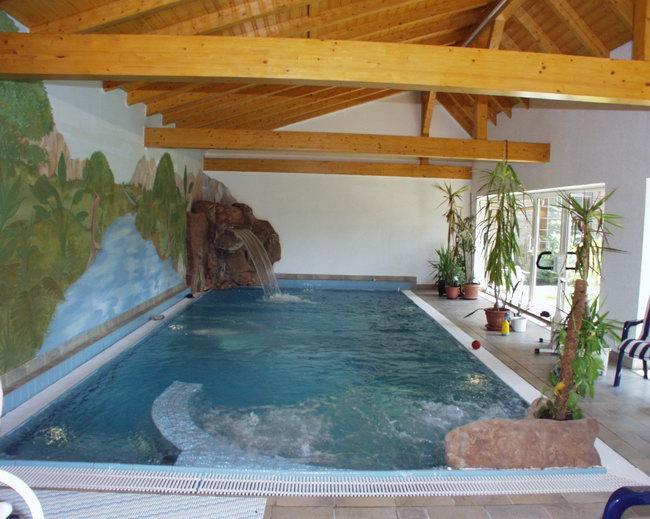 Einh nge gegenstromanlage von badu speck innovativ und for Garten pool mit gegenstromanlage
