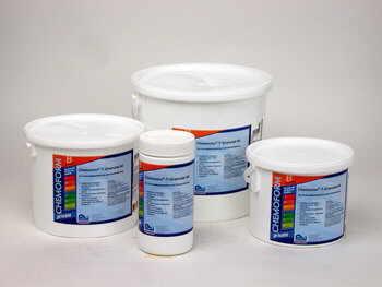 Sehr Whirlpool-Wasser-Pflege mit Chlor, Aktivsauerstoff, Brom sowie Zubehör PF63