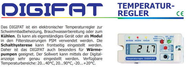 2 punkt temperatur und heizungs reglerregler mit digitalanzeige. Black Bedroom Furniture Sets. Home Design Ideas