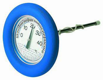 Schwimmbad pool thermometer luxus rund for Schwimmbadthermometer