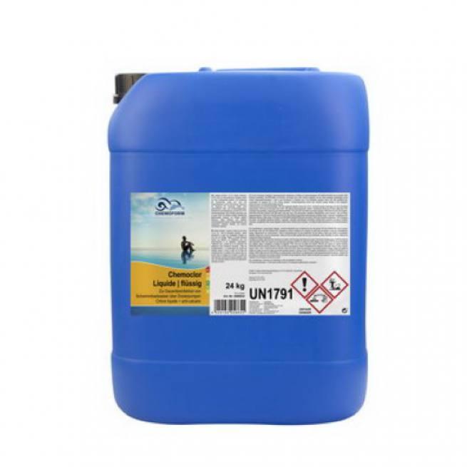 Chlor Flussig Chlorbleichlauge Stabilisiert Zur Pool Wasser Pflege