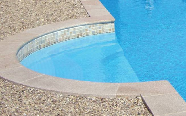 schwimmbad beckenrandsteine set r mertreppe farbe sand. Black Bedroom Furniture Sets. Home Design Ideas