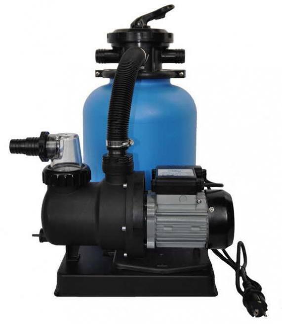 Schwimmbad sand filteranlage for Schwimmbad filteranlage