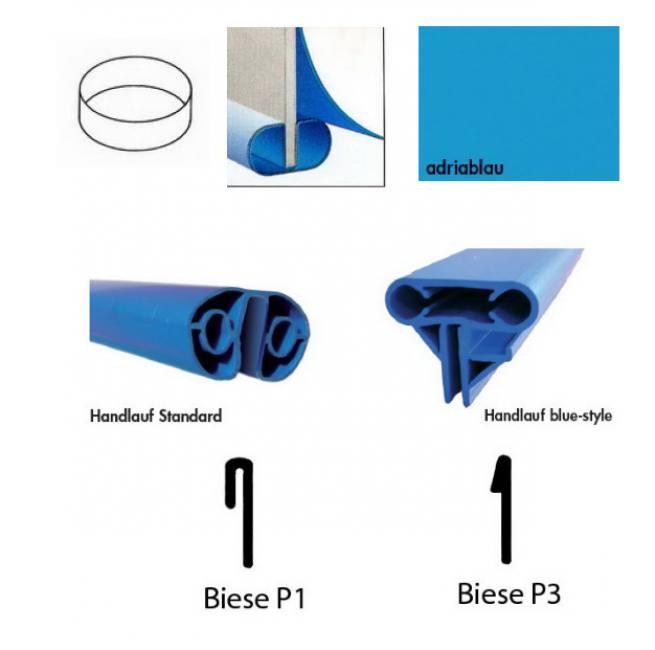 pool ersatz folie f r stahlmantel rundbecken 1 50 m tief folienst rke 0 8 mm. Black Bedroom Furniture Sets. Home Design Ideas