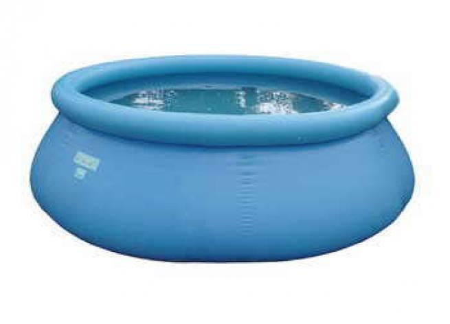 Schwimmbecken set flexi pool mit sand filter und pool leiter - Pool mit sandfilter ...
